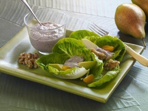 Walnut, Pear and Blue Cheese Dressing